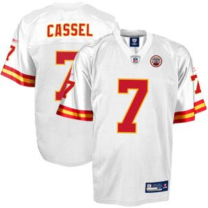 Reebok Matt Cassel Kansas City Chiefs Replica Jersey