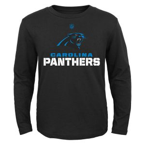 Carolina Panthers Youth Clean Cut Long Sleeve T-Shirt