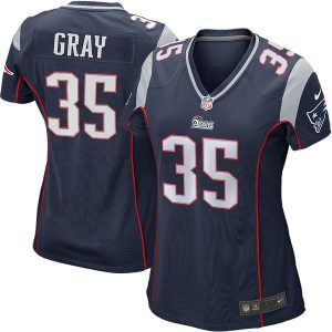 Jonas Gray New England Patriots Nike Women's Game Jersey