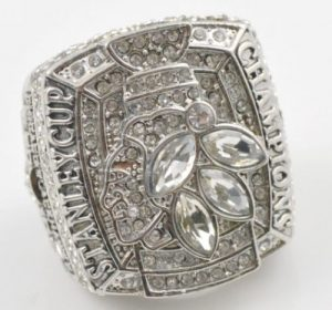 NHL Chicago Blackhawks World Champions Silver Ring_2
