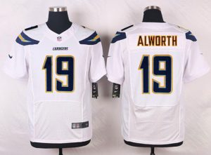 Nike Chargers #19 Lance Alworth White Men's Stitched NFL New Elite Jersey