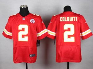 Nike Chiefs #2 Dustin Colquitt Red Team Color Men's Stitched NFL Elite Jersey