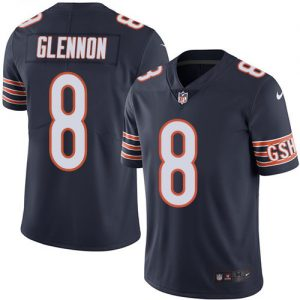 Nike Bears #8 Mike Glennon Navy Blue Team Color Men's Stitched NFL Vapor Untouchable Limited Jersey