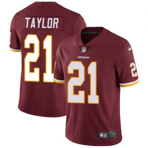 Nike Redskins #21 Sean Taylor Burgundy Red Team Color Men's Stitched NFL Vapor Untouchable Limited Jersey