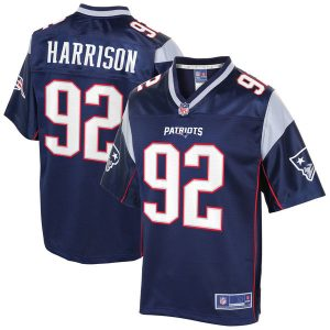 James Harrison New England Patriots NFL Pro Line Player Jersey – Navy
