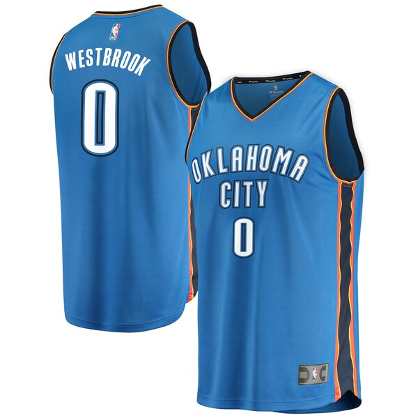 official photos bd0fa 4f717 Youth Oklahoma City Thunder Russell Westbrook Fana wholesale ...